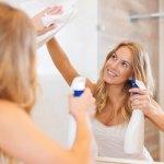 Как почистить зеркало