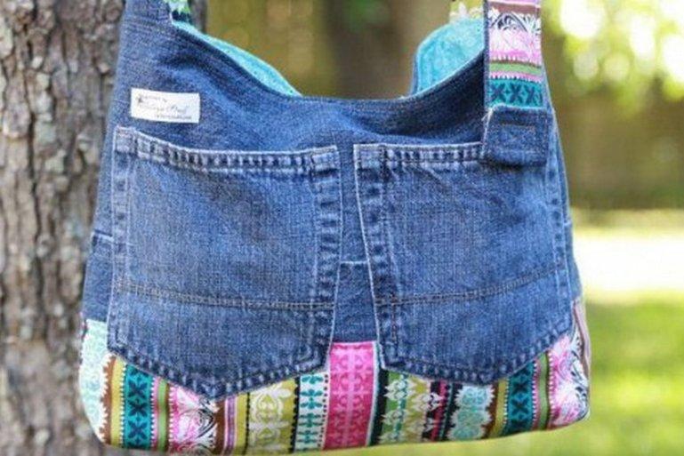 Не выбрасывайте старые джинсы! Вторая жизнь старых джинсов с пользой для дома.