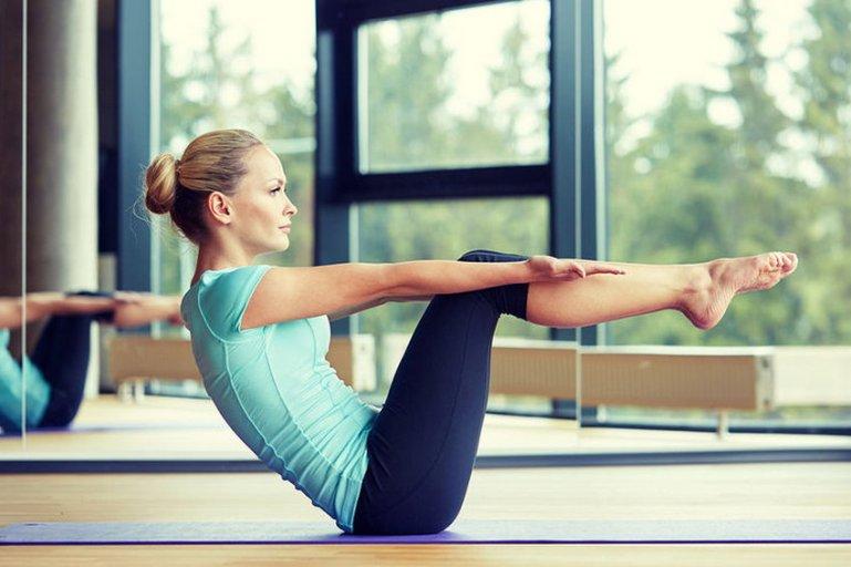 Упражнения для гимнастики на коврике