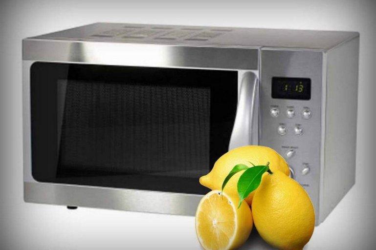 Зачем помещать лимон в микроволновку