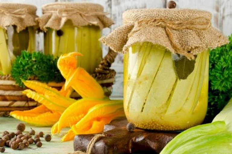 Как приготовить кабачки с соком ананаса