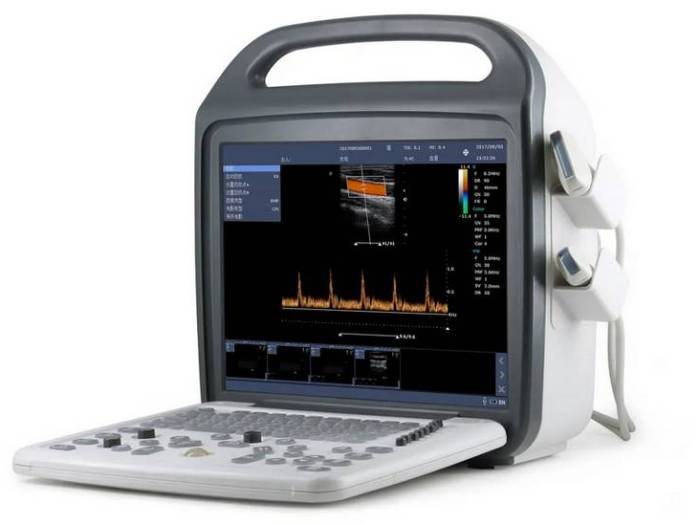 Портативный УЗИ сканер для ветеринарии DCU10 VET