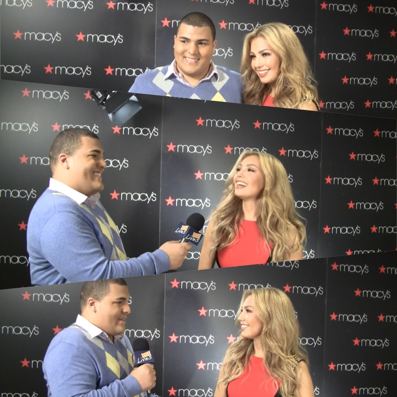 Dos Lives Catches up with Thalia at Icon of Style Award Ceremony