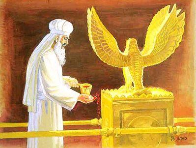 """Résultat de recherche d'images pour """"Images du tabernacle avec les chérubins dans le Premier Temple de Jérusalem"""""""