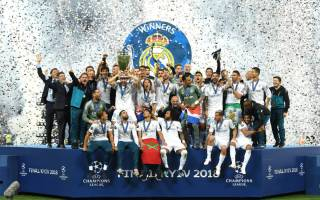 Real Madrid Tricampeonato de la champions