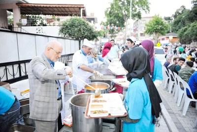 beykoz sokak iftarları