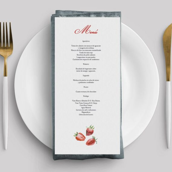 menu clasica fresas minuta