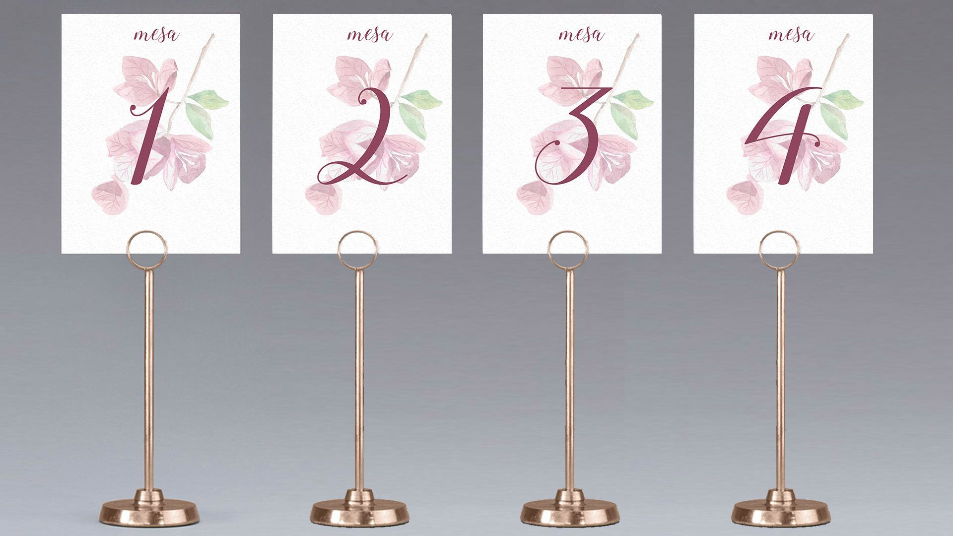 meseros mesa buganvilla flor boda