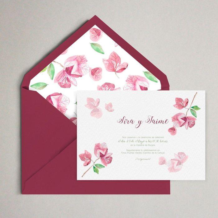 Budanvilla invitación boda