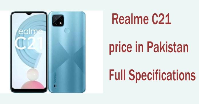 Realme C21 price in Pakistan