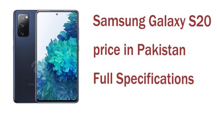 Samsung Galaxy S20 price in Pakistan