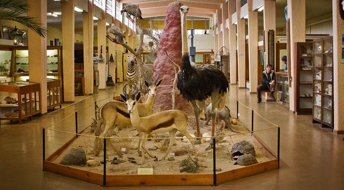 Внутри музея Свакопмунда