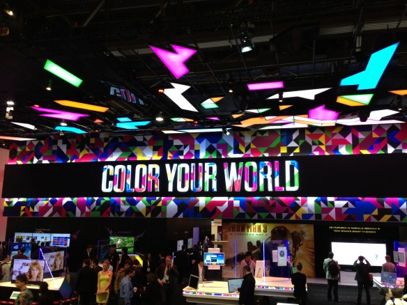 Color Your World CES 2013