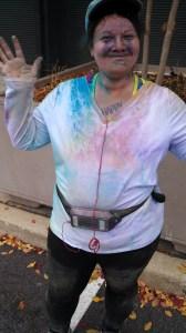 The Color Run, weight loss, 5Ks