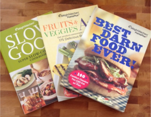Time to retire my Weight Watchers cookbooks. Since I'm focused on low-carb/high fat meals, these no longer cut it for me.