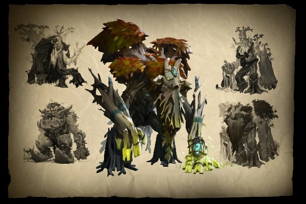 Envisioning Treant Protector Loading Screen Dota 2 Wiki