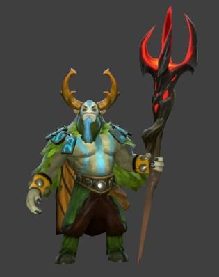Nature's Prophet Dagon Staff