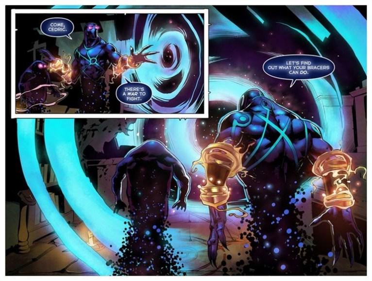 TI5 compendium comic the summoning 14