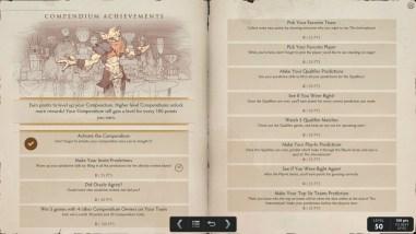 TI5 compendium achievements