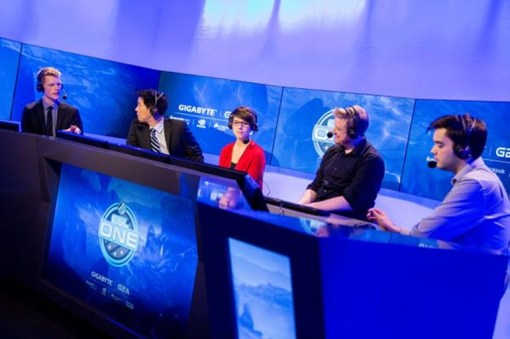 ESL Studios: Soe, Tobiwan, Maelk, Merlini and Synderen