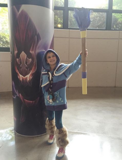 Young Crystal Maiden