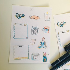 sticker-bullet-journal-bien-etre-dot-and-bullet