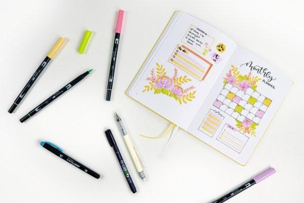 kit-journaling-creatif-bright-tombow