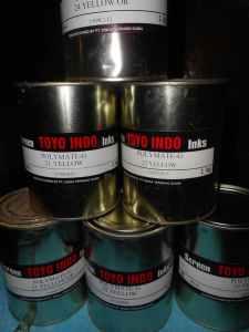 Tinta Toyo Sablon Plastik