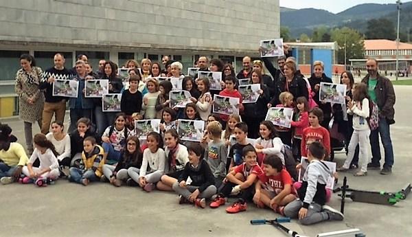 Estas semana ha tenido lugar la adhesión en las escuelas de Landako