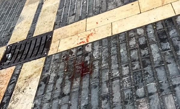 El suelo de Kalebarri estaba manchado de sangre