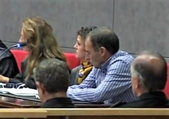 Uno de los momentos del juicio