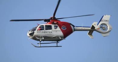 [dotb.eus] Evacuado en helicóptero tras quedar atrapado debajo de su todoterreno en Urkiola