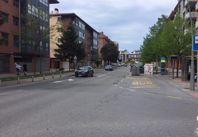 [dotb.eus] Hoy comienzan las obras de asfaltado de la calle San Pedro