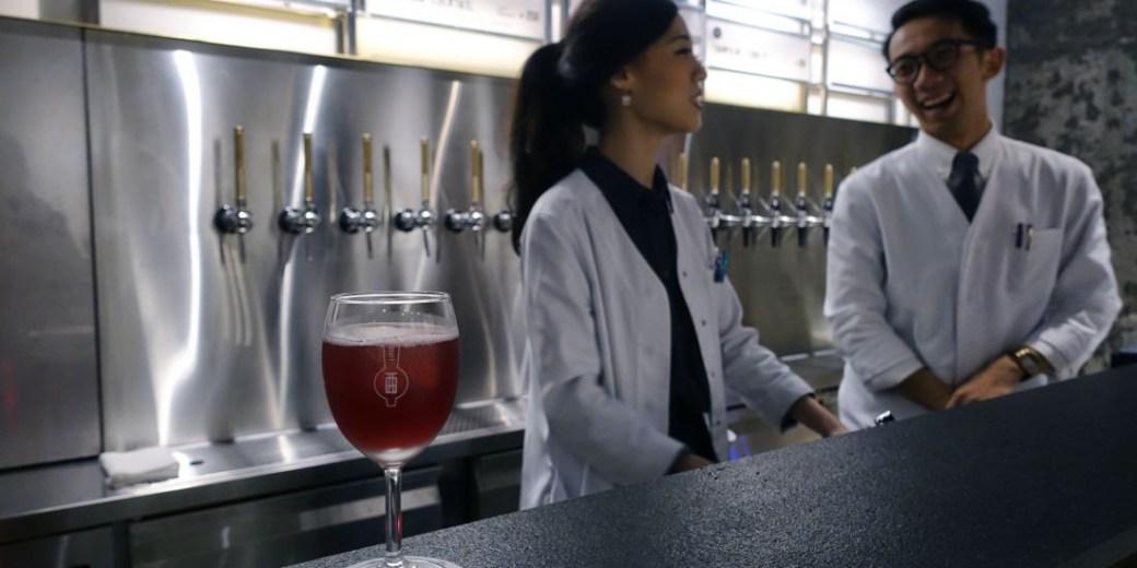 Draft Land 國父紀念館酒吧|亞洲第一間將雞尾酒生活化的立飲式汲飲雞尾酒吧