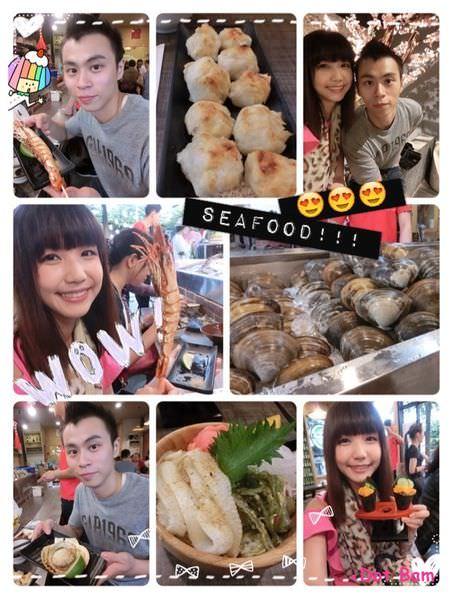 台中生鮮海產,現烤海鮮 食尚玩家報導,隱身公益路黎明黃昏市場內平價生猛海鮮,リ味館