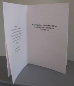Homemade Traditional Christmas Cards