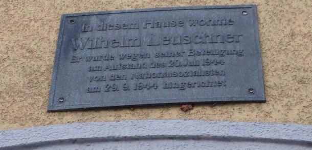 Educache: Die letzten Tage von Wilhelm Leuschner