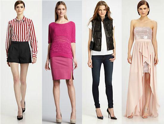 Spring 2013 Trends - Stripes, Split Front Skirts, Bomber Jackets and Hi-Low Dresses