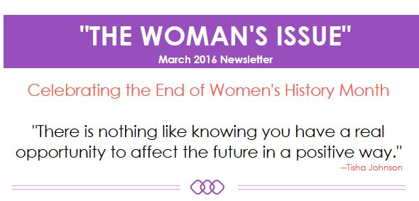 Celebrating the End of Women's History Month