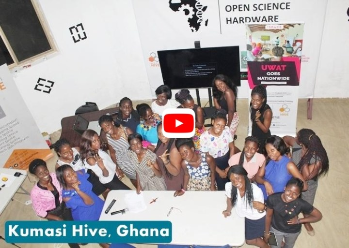 Kumasi Hive from Ghana wins the 2018 5,000 USD Grand Prize while, INTELLECT-Team at Laboratory of Technologies for Smart Systems (CRNS) Tunisia and Eco-Sol Consulting (Full STEM Ahead!) Seychelles will take home the Second category prize of 1,000 USD.