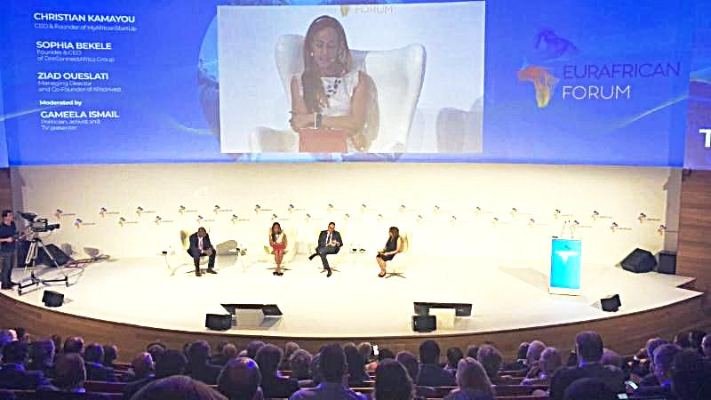 Portugal Sophia Bekele Urges Opportunity Enhanced Trust at EurAfrican 2018 forum