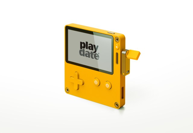 Playdate video game system