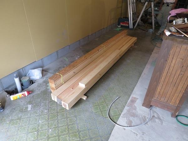 出入り口の造作工事