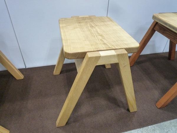 クリで造られた椅子