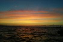 早朝の海画像