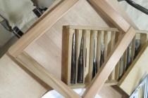秋田杉で椅子を作っています