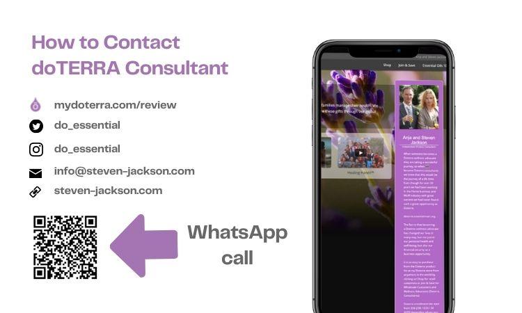 Contact Doterra