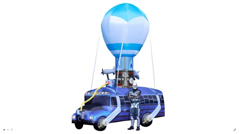 You Can Buy A 17 Feet Tall Inflatable Fortnite Battle Bus For 500 To Confuse Your Neighbors