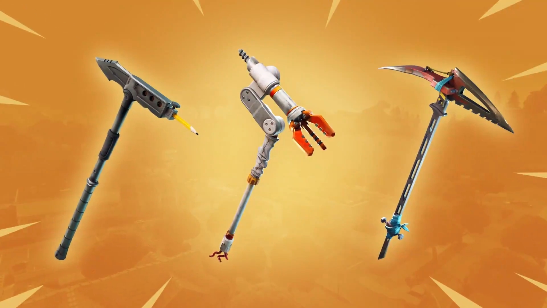 All The New Pickaxe And Glider Loot In Fortnite Battle