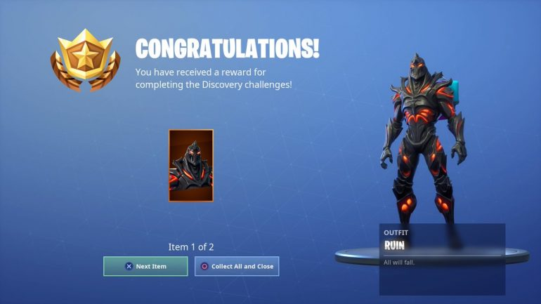 Fortnites Ruin Skin Is Now Available Dot Esports